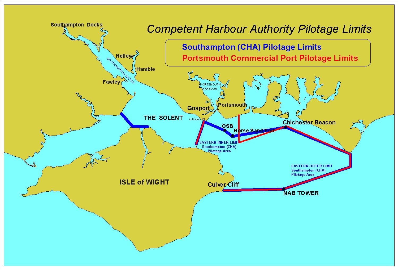 Port Maps   Southampton VTS   ABP Southampton